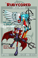 Neo Lucie + demon-Kayla ID-08 by Rubycored