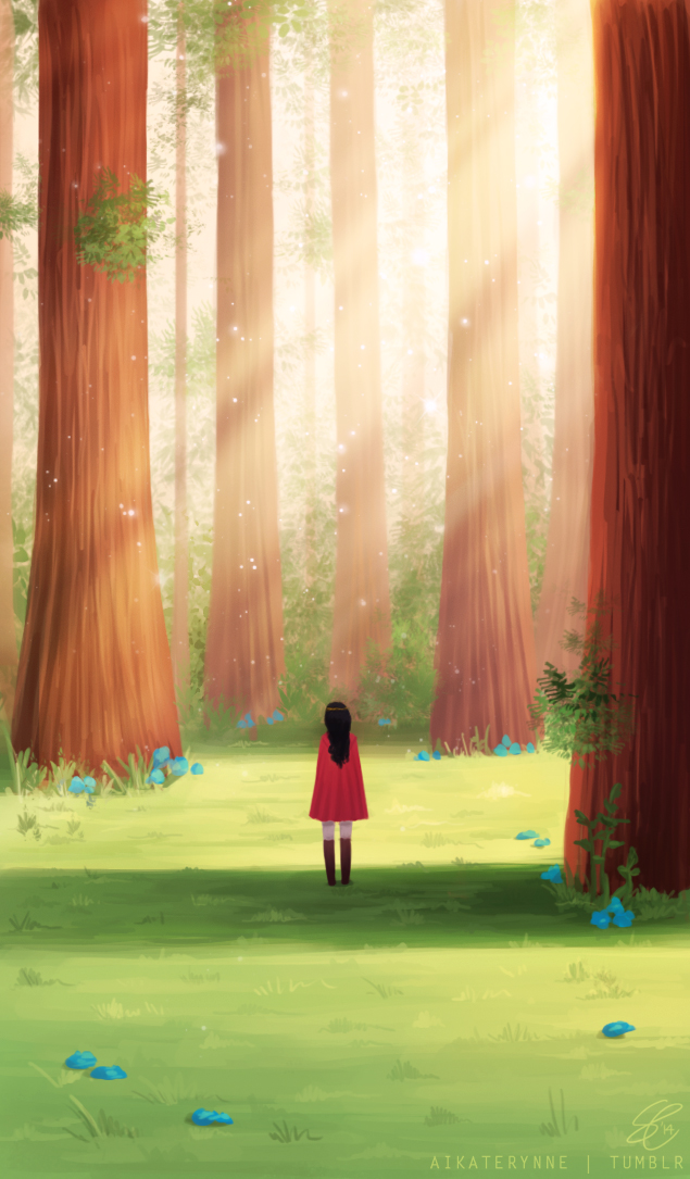 Between The Trees By Radissonclaire On Deviantart