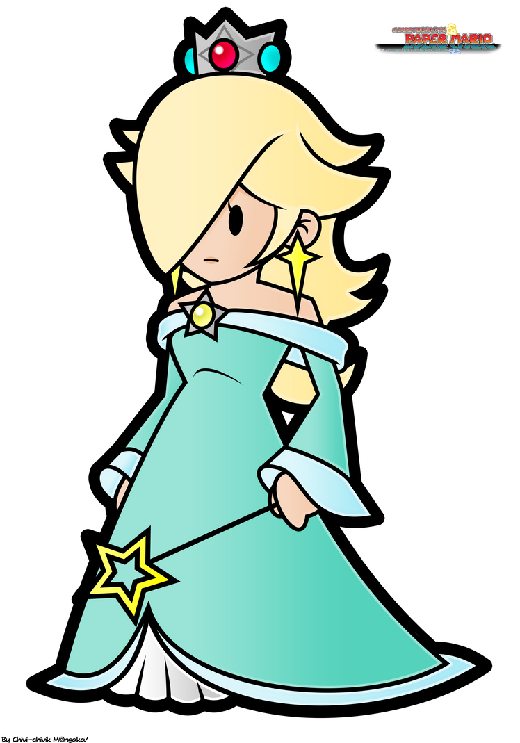 CPM_Rosalina fan-artwork by Chivi-chivik
