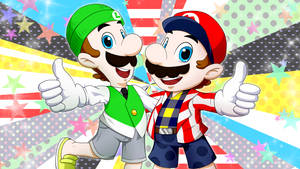 SMB-Nintendo_Mario Brothers a la Mode by Chivi-chivik