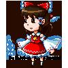Touhou_Pixel Reimu by Chivi-chivik