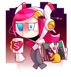 Kirby_Overworked by Chivi-chivik