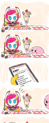 Kirby_Strawberry on Top by Chivi-chivik