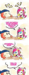 Kirby_Secret Gambit by Chivi-chivik