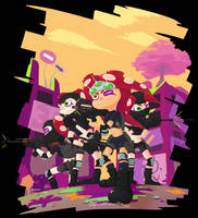 Cm_Octoling Onslaught by Chivi-chivik