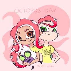 Splatoon 2_Octopus day by Chivi-chivik