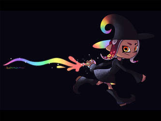 Splatoon 2_Little Octowitch Academia by Chivi-chivik