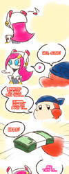 Kirby_Regretful deals by Chivi-chivik
