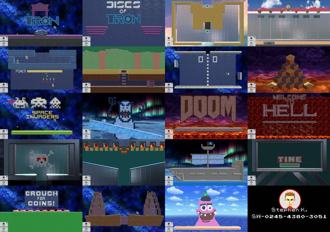 Super Smash Bros  Ultimate - Custom Stages by Dalton-City on DeviantArt