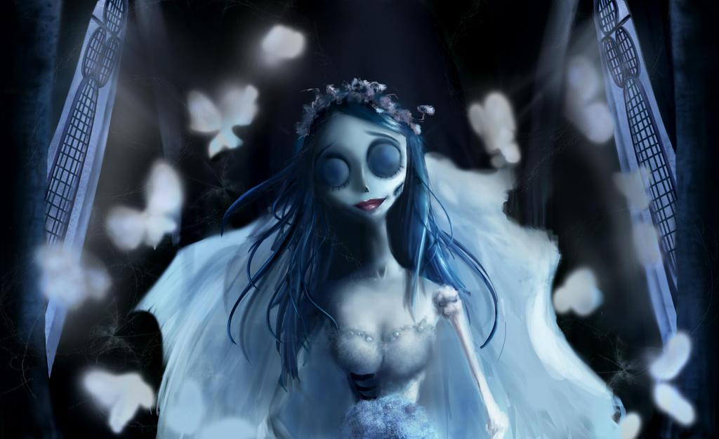 Emily from Corpse Bride fanart by FantasyOwlLegend