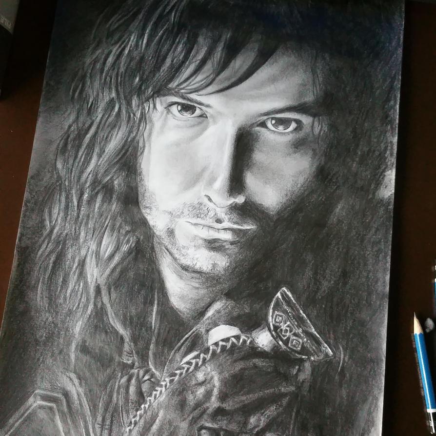 Kili the hobbit fanart by FantasyOwlLegend