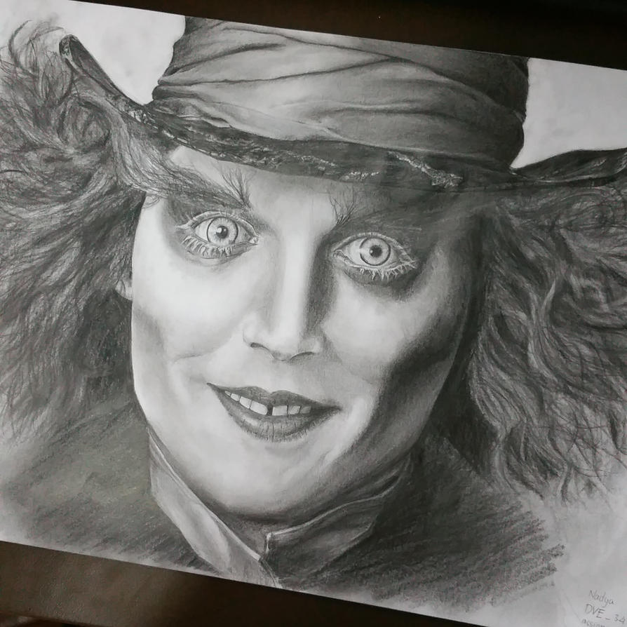 Mad Hatter fanart by FantasyOwlLegend