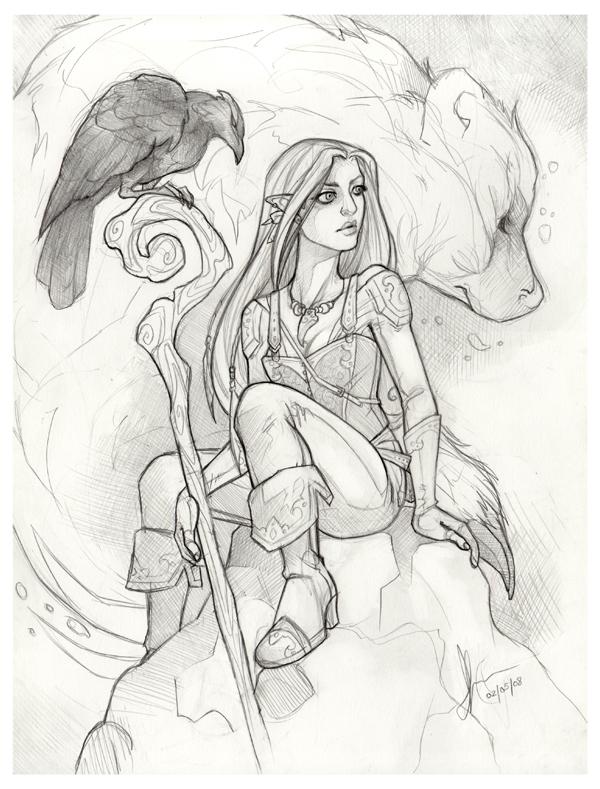 the gallery for gt dandd female druid