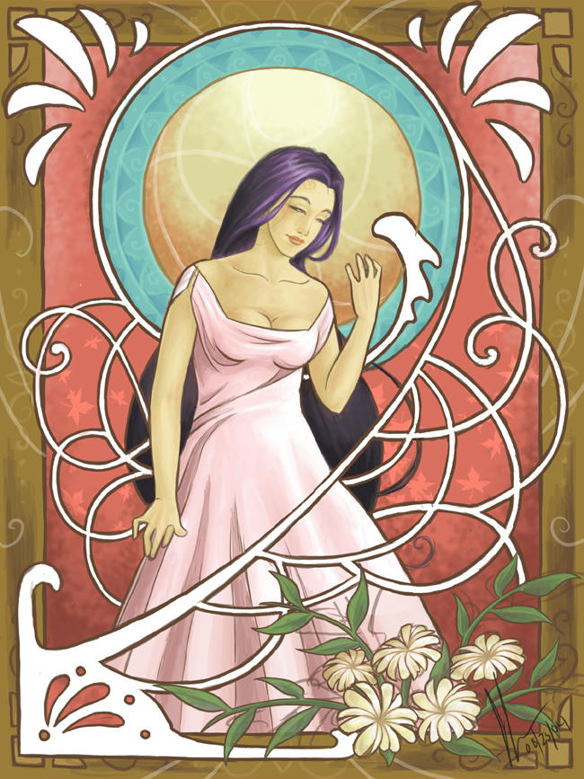 Art Nouveau Xchange - Rhiannon by GoddessVirage