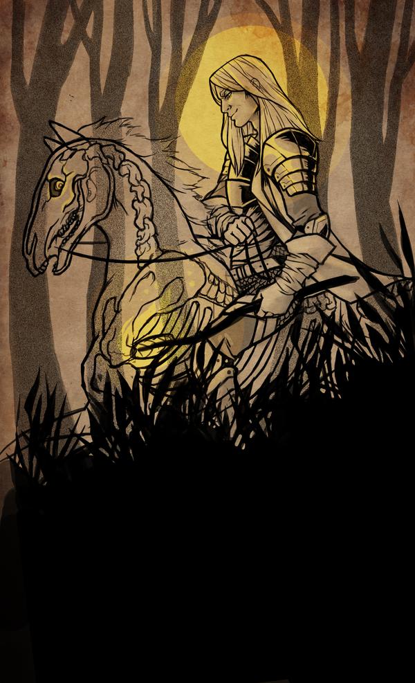 Dark Horse by GoddessVirage