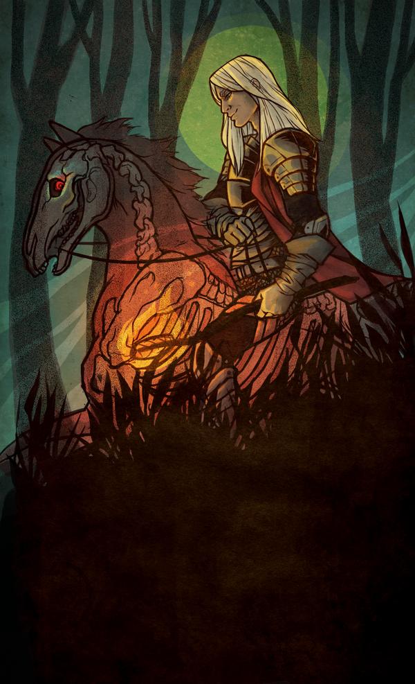 Dark Horse - Color by GoddessVirage