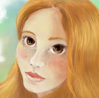 Selfportrait by sofie-arts