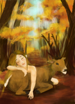 A Story Of A Girl And A Deer