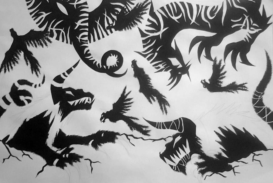 Demons Shadow by RensaRaion
