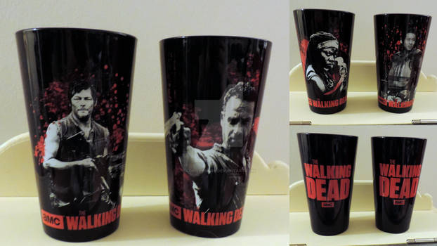 My Black The Walking Dead Glasses