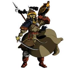Guerrero Mongol Color digital by Polakoooo