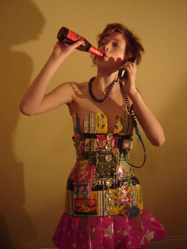 A Rubbish Dress by Kokoindigomoon