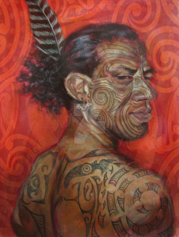 Maori Warrior by optimistiKATE