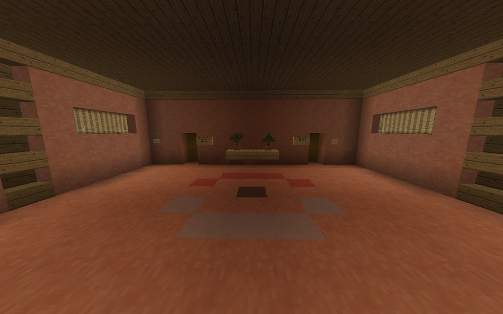 Minecraft norman s gym battle room back by