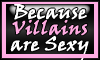 Stamp:  Villains are Sexy by StephDragonness