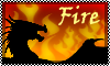 Stamp: DRAGON ELEMENT fire by StephDragonness