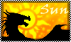 Stamp: DRAGON ELEMENT sun by StephDragonness