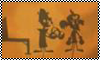 Stamp: Tribal silhouettes brio and cortex by StephDragonness