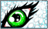 Stamp: Green Eyes by StephDragonness