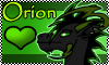 Stamp: Orion the Dragon by StephDragonness