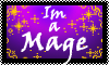 Stamp: Im A Mage by StephDragonness