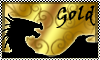 stamp: DRAGON ELEMENT gold by StephDragonness