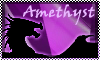 stamp: DRAGON ELEMENT Amethyst by StephDragonness