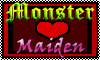 Stamp: I Support Monster X Maiden Pairings by StephDragonness