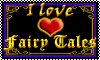 Stamp: I Love Fairy Tales by StephDragonness