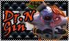 Stamp: Dr N gin ~Nitro Kart by StephDragonness