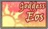 Stamp: goddess Eos