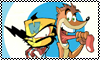 stamp: twinsanity Duo by StephDragonness