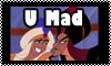 Stamp: Disney- U Mad by StephDragonness