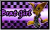 stamp: Brat Girl crash of the titans by StephDragonness
