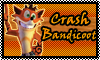 stamp: Crash Bandicoot ~Crash of the Titans by StephDragonness