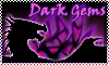 stamp: DRAGON ELEMENT dark gems by StephDragonness