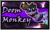 stamp: Doom Monkey by StephDragonness