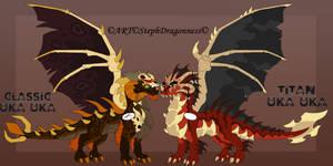 FC: Uka Uka Dragonfied Forms