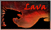 stamp: DRAGON ELEMENT lava by StephDragonness