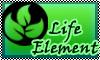 stamp: Skylanders life Element by StephDragonness